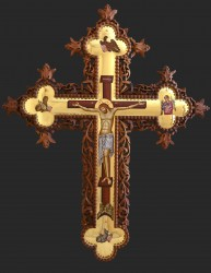 Holy Cross for the iconostasis- 120 cm