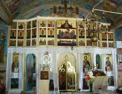 Iconostasis - St. George Church - Viile, Galati- 2002-2004