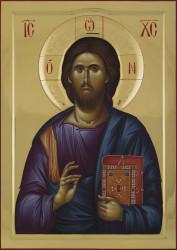 Jesus Christ Pantokrator 85x60 cm