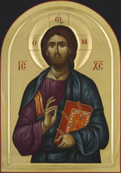 Jesus Christ Pantokrator 80x55 cm