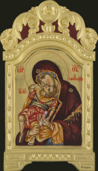 Mother of God Glykofiloussa- 40x23 cm