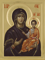 Mother of God Hodegetria-75x57 cm