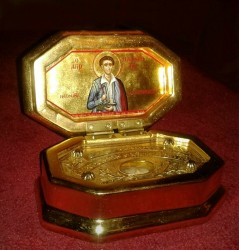 Relics Box for the St. Panagiotis- the Neomartyr from Jerusalem