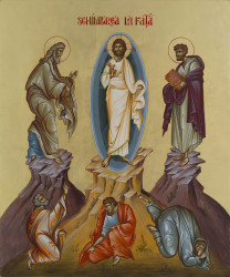 The Transfiguration 45×37 cm