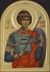 St. George 80x55 cm