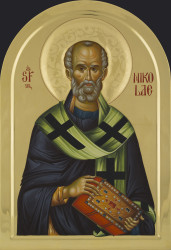 St. Nicholas 80x55 cm