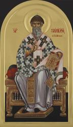 St. Spyridonas 95x55 cm