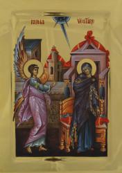 The Annunciation 42x31 cm