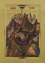 The Nativity 42x31 cm
