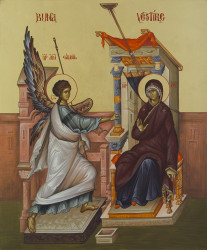 The Annunciation 45x37 cm