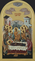 The Dormition of Mother of God   95x55 cm