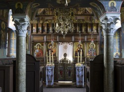 Iconostasis - St. Hypatius (St.Ipatios) Holly Mount Athos, Greece