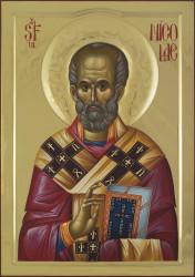 St. Nicholas 85x60 cm